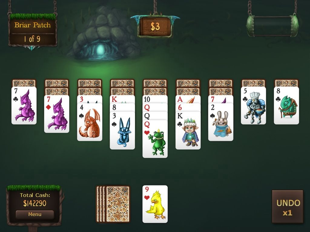 Solitaire card game no wifi games for iPhone