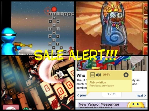 Sale Alert! Samurai-Way-of-the-Warrior-Shoot-at-Sight-HD-Kickin-Momma-HD-and-Tap-Dictionary-appSIZED