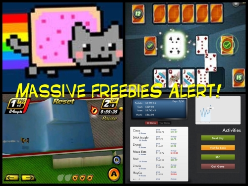Nyan Cat Touch Racing Aces Speed Insider Trading appSIZED