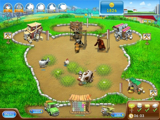 Farm frenzy 2 pizza party HD on appSIZED