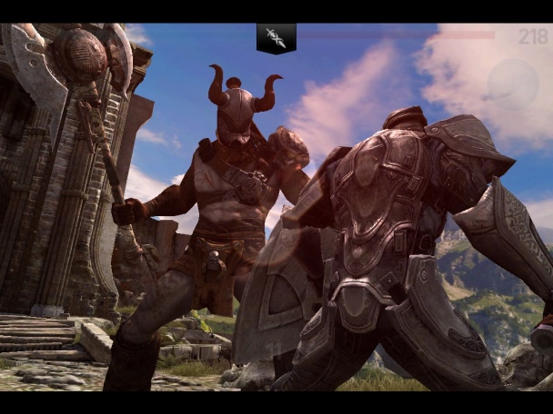 Infinity Blade 2 on appSIZED
