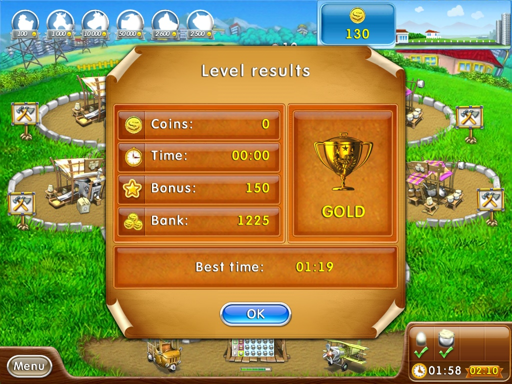 iOS App Review: Farm Frenzy 2 – Pizza Party HD | appSIZED