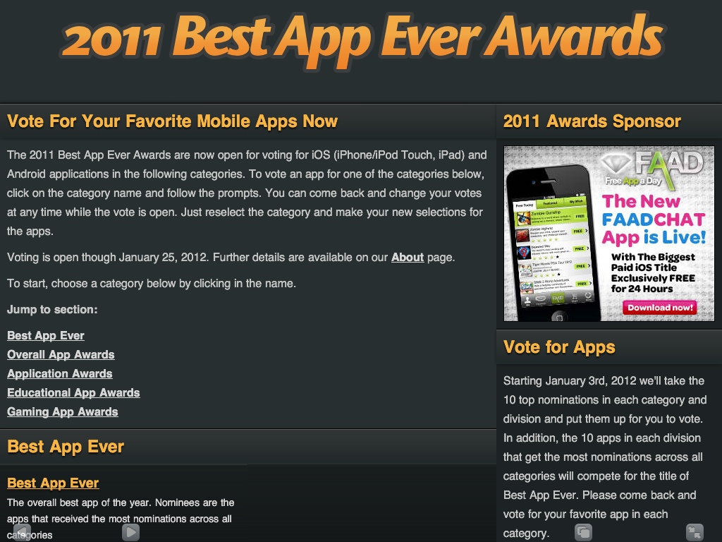 what is the best app ever