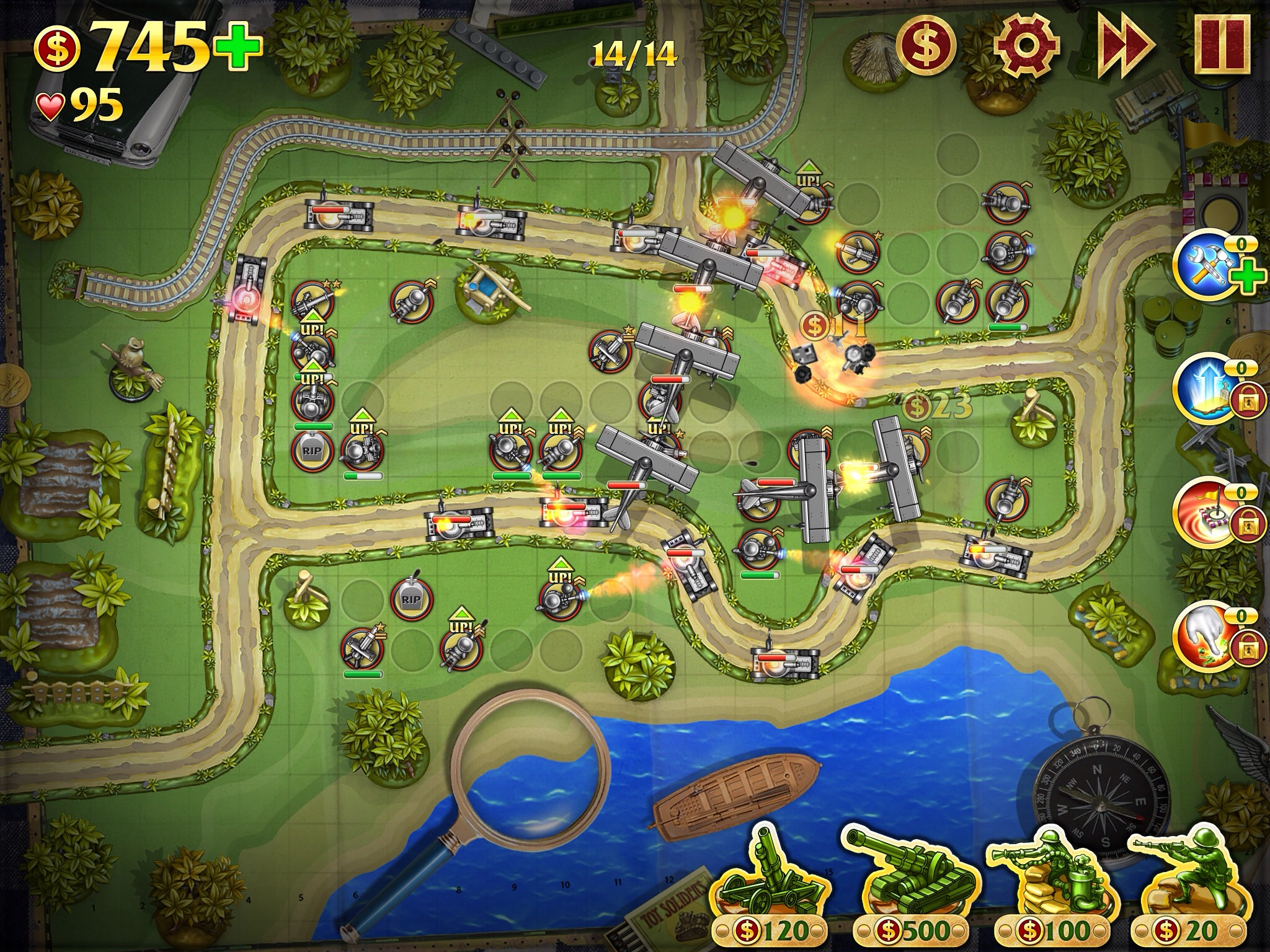 online tower defence game