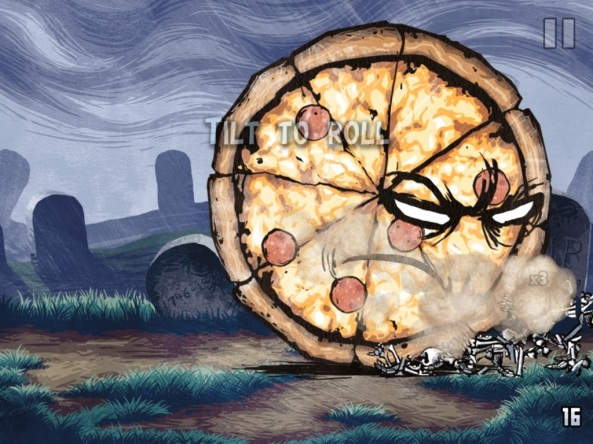 Pizza vs Skeletons on appSIZED