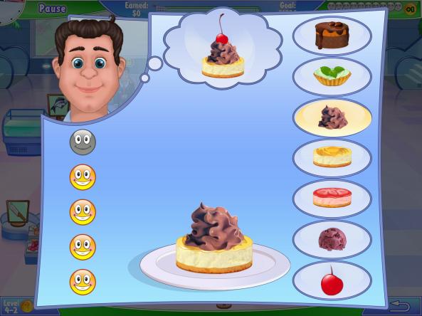 Yummy mini-game