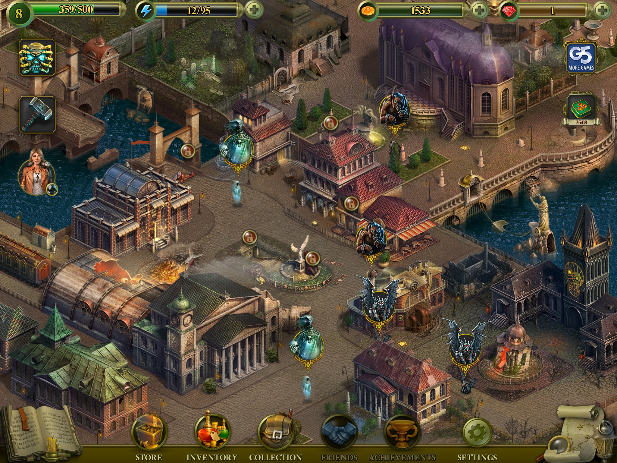 Now Playing: <b>Hidden CIty</b> – Mystery of Shadows for iPad | Drippler ...