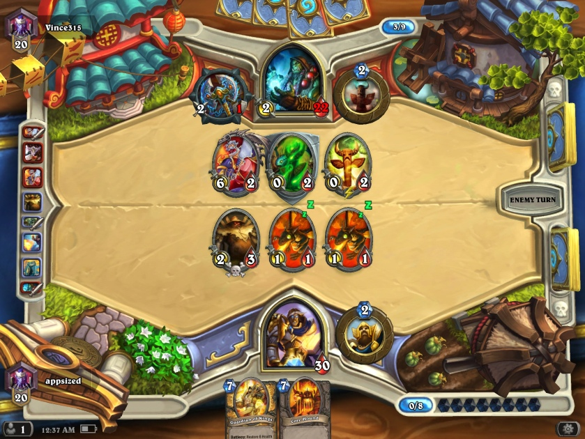 Image result for hearthstone game ios cost